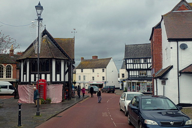 Newent, 2015: Market Place
