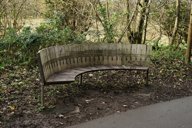 Seat Beside the Itchen Way