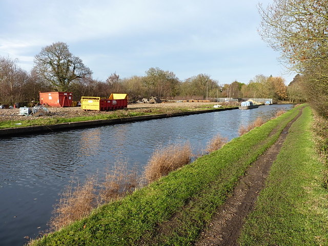 Canal & River Trust's Henwood Tip site at Catherine-de-Barnes