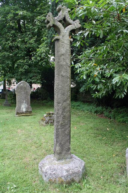 Churchyard cross, Church of St Mary, Blanchland