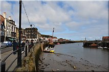 NZ8911 : Whitby harbour by Oliver Mills