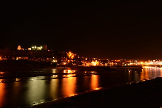 Whitby, night