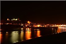 NZ8911 : Whitby, night by Oliver Mills