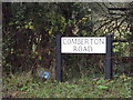 TL3556 : Comberton Road sign by Adrian Cable