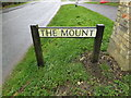 TL3556 : The Mount sign by Adrian Cable