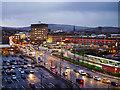 SJ9399 : Tram and Bus Interchange, Wellington Road by David Dixon