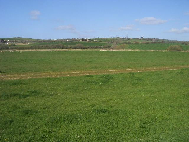 Flood plain of the River Brit