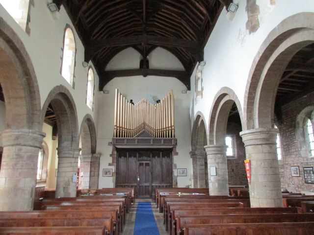 St. Lawrence, Whitwell, nave looking west