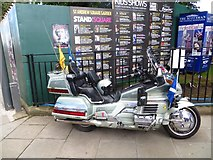 NT2574 : Decorated Goldwing, St Andrew Square by Richard Webb