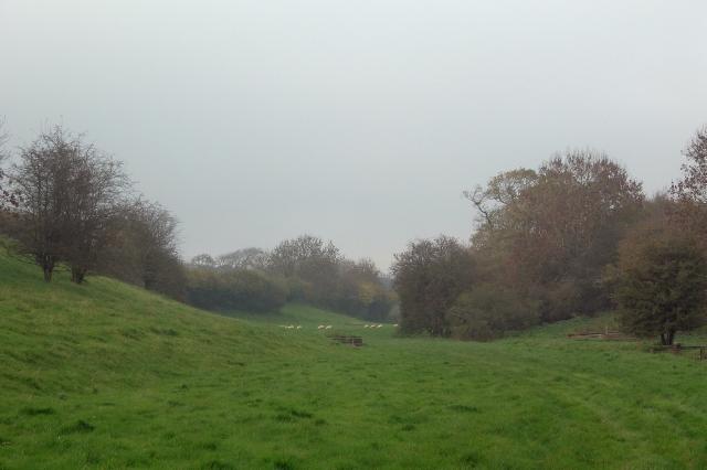 Cwm y Befos in late autumn
