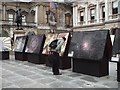 TQ2980 : 'Light Works' exhibition, Royal Academy courtyard off Piccadilly, London by Robin Stott