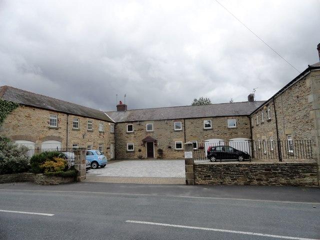 Former farm buildings at Bridgehill
