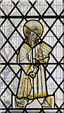 SK7371 : St Lawrence, stained glass window, Tuxford church by Julian P Guffogg