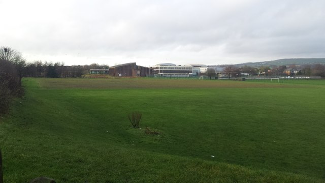 Ladybridge High School playing fields