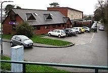 ST3091 : Vets car park, Malpas, Newport by Jaggery