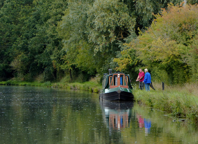 Mooring south of Brewood, Staffordshire
