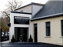 H4573 : Armstrong Funeral Directors, Omagh by Kenneth  Allen
