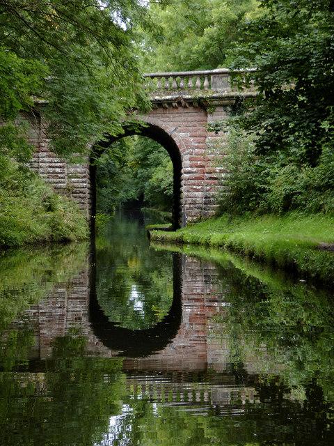 Avenue Bridge south-east of Brewood, Staffordshire