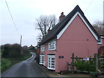 TM4678 : Norfolk Road by Keith Evans
