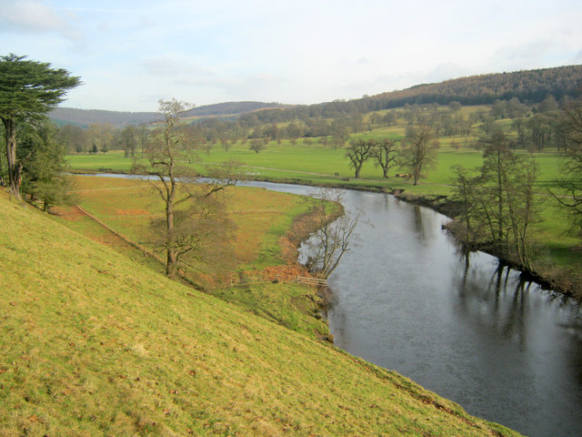 River Derwent at Chatsworth Park