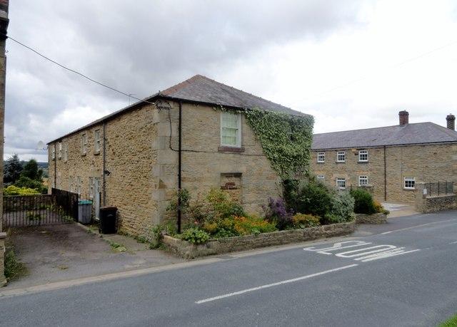 Converted farm buildings at Bridgehill