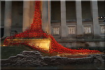 SJ3490 : Weeping Window, St George's Hall, Liverpool by Mike Pennington