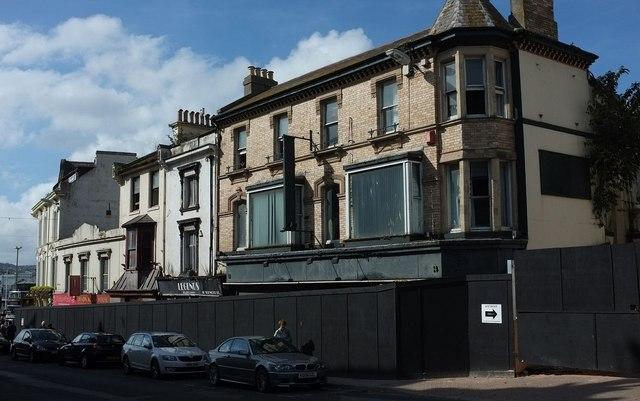 Development site, Torwood Street, Torquay