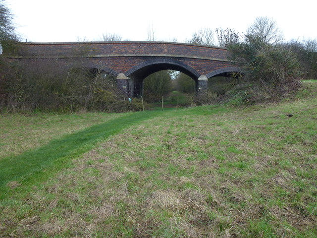 Old railway bridge near Wigsthorpe