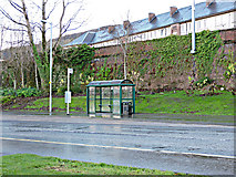 NS3174 : Bus shelter on Greenock Road by Thomas Nugent