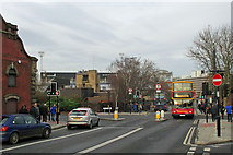 TM1543 : Ipswich: on the way to the match by John Sutton