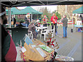 SP9211 : The Xmas Farmers' Market in Church Square, Tring by Chris Reynolds