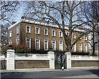TQ2879 : Forbes House, Halkin Street by Stephen Richards