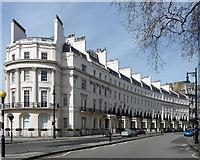 TQ2879 : 1-10 Grosvenor Crescent by Stephen Richards