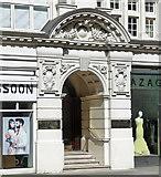 TQ2779 : Detail of Parkside, Knightsbridge by Stephen Richards