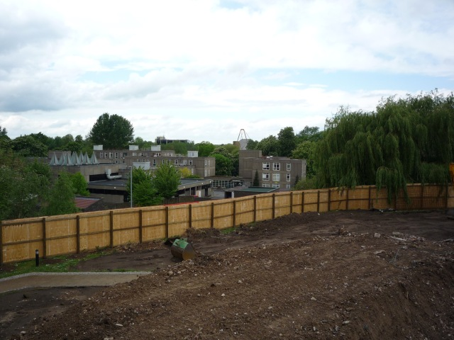 View towards Langwith