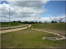 SE6350 : Paths on Heslington East by DS Pugh