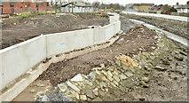 J3674 : Connswater path works, Belfast - December 2015(4) by Albert Bridge