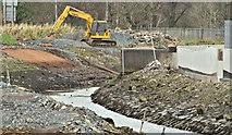 J3674 : Connswater path works, Belfast - December 2015(5) by Albert Bridge