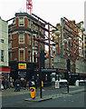 TQ2981 : Construction work, Oxford Street by Julian Osley