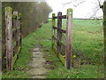 TL0881 : Bridge and bridleway next to Barnwell Wold by Richard Humphrey