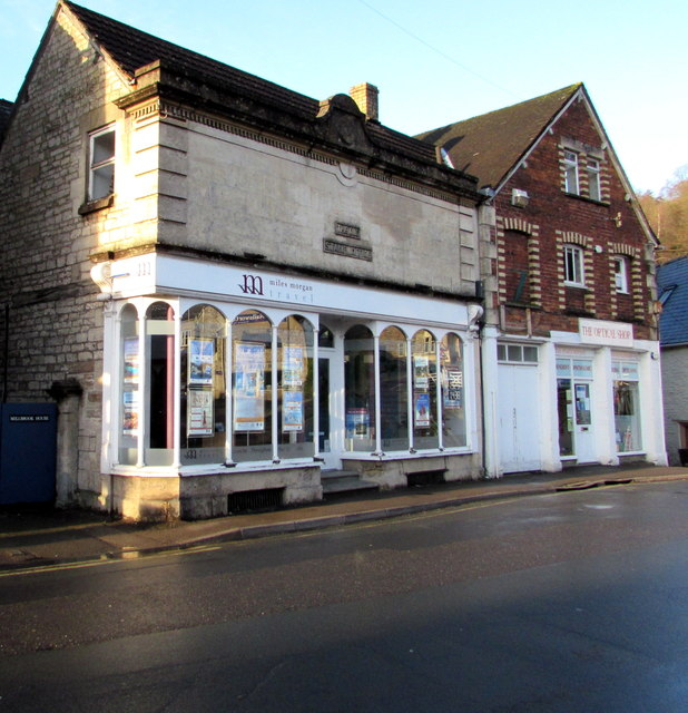 Miles Morgan Travel office in Nailsworth