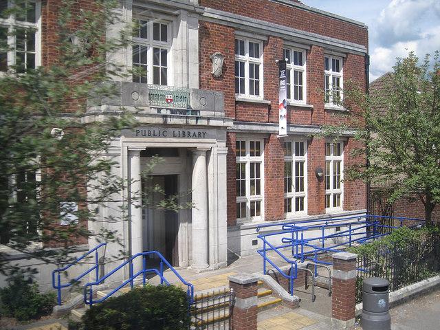 Burgess Road Library, Highfield, Southampton