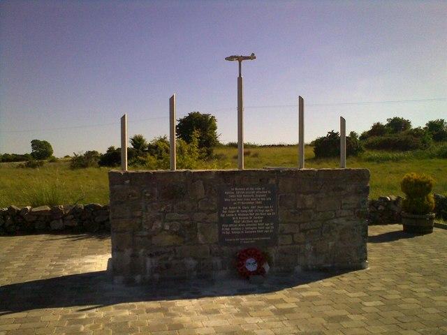 British Warplane Memorial near Tuam
