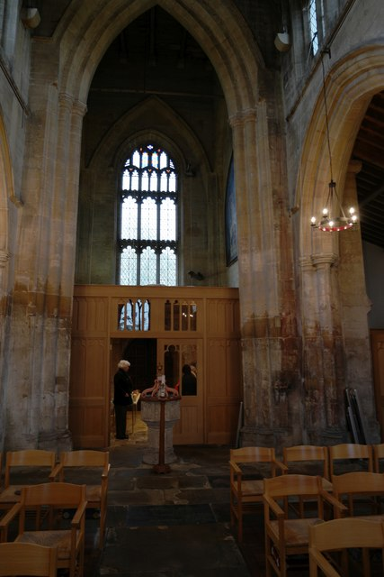St James' Church: tower screen