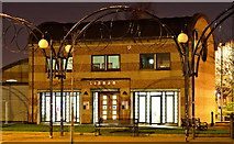 J3674 : The Holywood Arches library (night view), Belfast (December 2015) by Albert Bridge