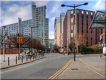 SJ8397 : Manchester, Windmill Street by David Dixon
