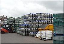 TQ4210 : Barrels, Harveys Brewery by N Chadwick