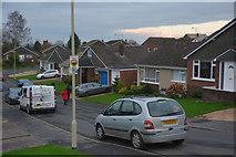 SS9612 : Tiverton : Bampfylde Close by Lewis Clarke