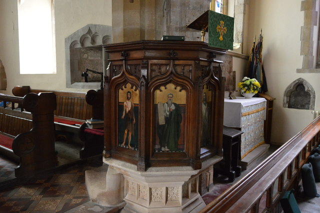 Pulpit, Church of St Thomas a Becket