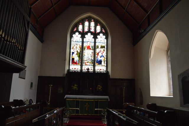 Stained glass window, Church of St Thomas a Becket